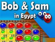 Bob and Sam in Egypt